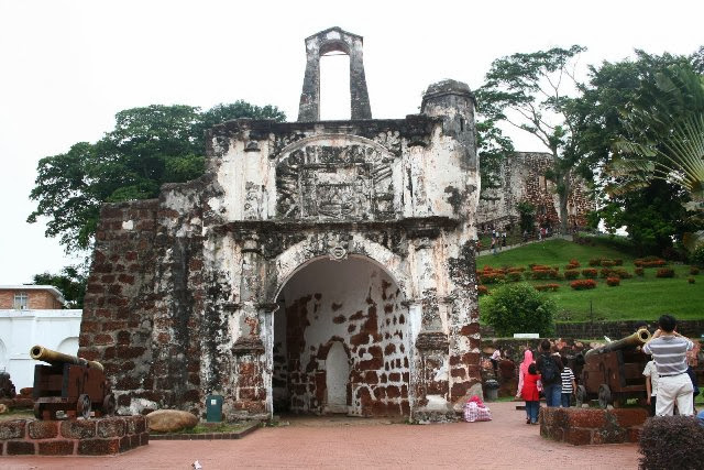 Kota-A'-Famosa-The-fort-of-Porte-De-Santiago