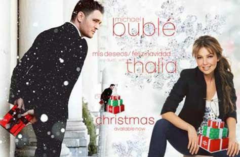 Michael Bublé y Thalia