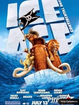 Phim Kỷ Băng Hà 4: Lục Địa Trôi Dạt - Ice Age: Continental Drift (2012)