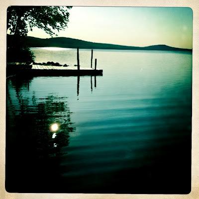 Lake in Main