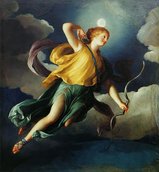 Anton Raphael Mengs - Diana as Personification of the Night