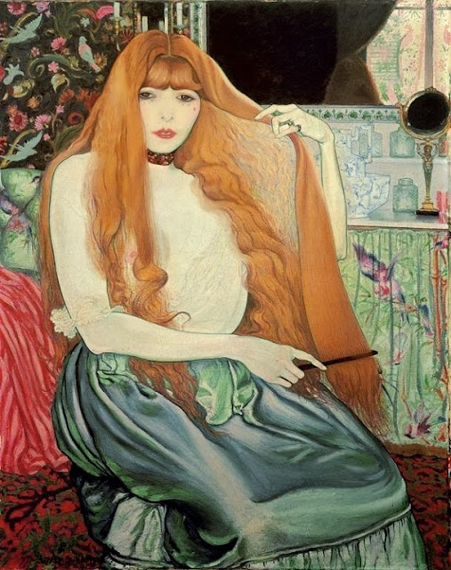 Louis Anquetin - Woman combing her hair