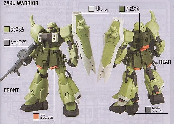 Mô hình Zaku Warrior HG Gundam Seed tỷ lệ 1/144