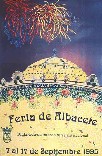 Cartel Feria Albacete 1995