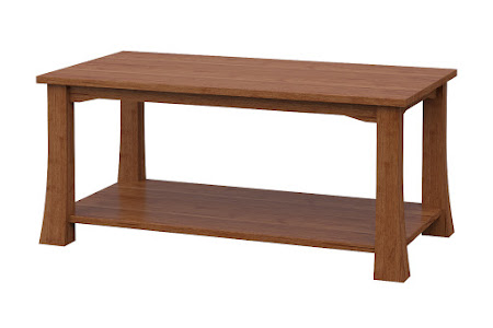 Edmonton Coffee Table in Itasca Maple