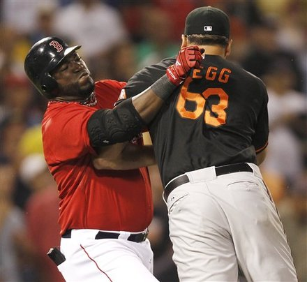 David Ortiz vs Kevin Gregg