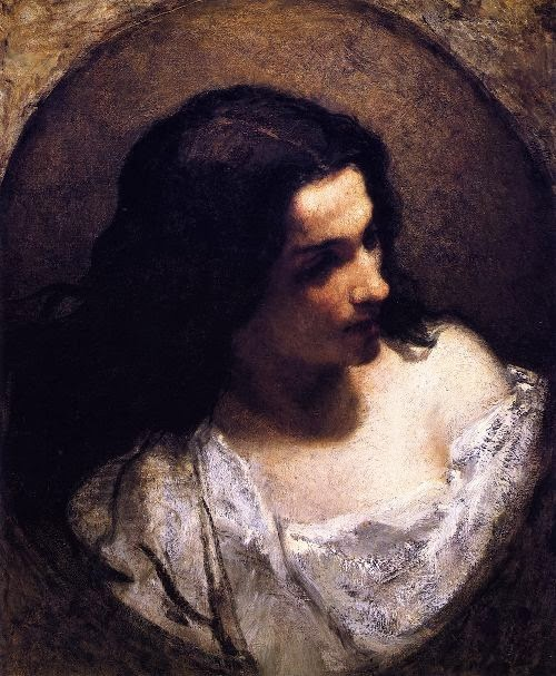 William Morris Hunt - The Jewess