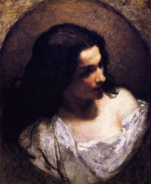 William Morris Hunt - The Jewess