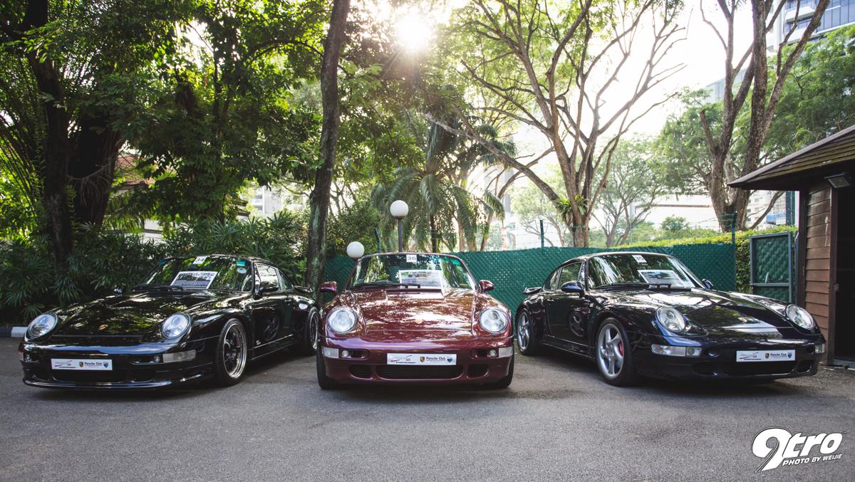 Mọi dòng xe của Porsche hầu như xuất hiện ở sự kiện này