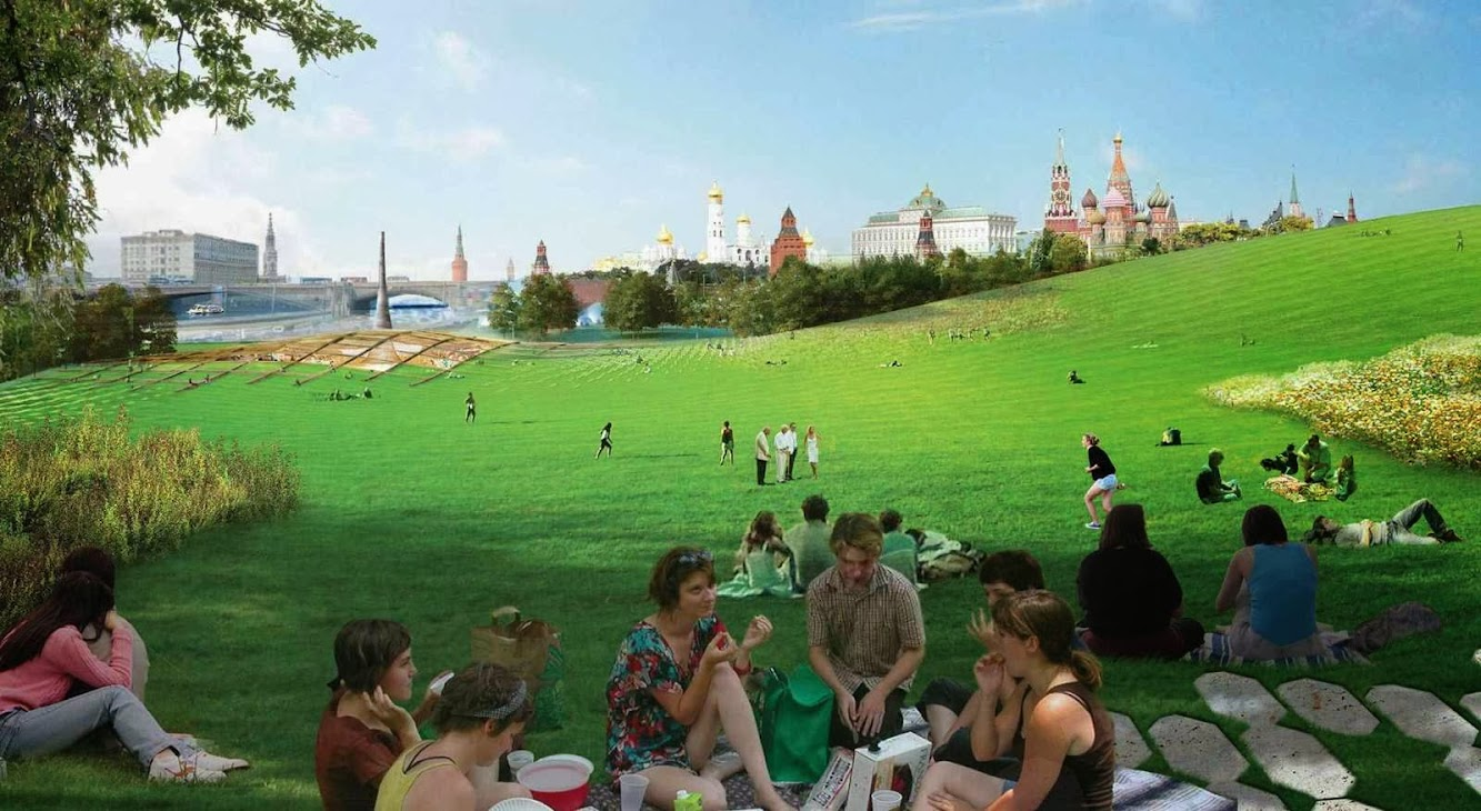 Diller Scofidio Renfro Wins Zaryadye Park Competition