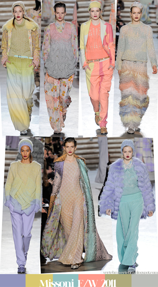 Missoni, Fall, Winter, 2011, Milan, Fashion Week