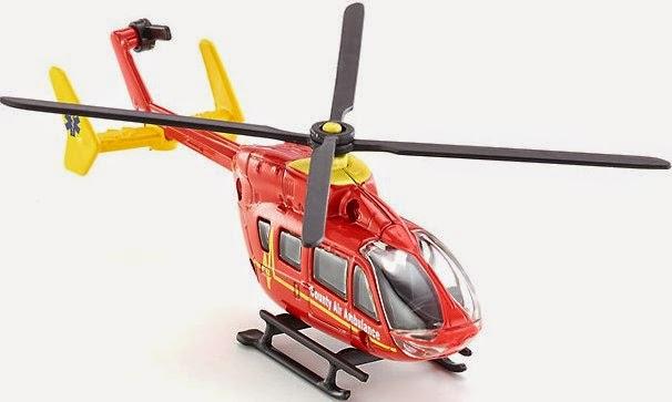 Đồ chơi mô hình Máy bay trực thăng cứu thương Siku 1647 dành cho trẻ em trên 3 tuổi