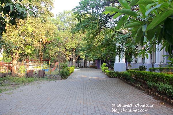 Premises of St. Mary's Church, Pune