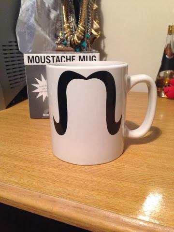 Moustache Mug Gift