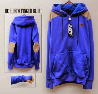 Jaket DC Biru