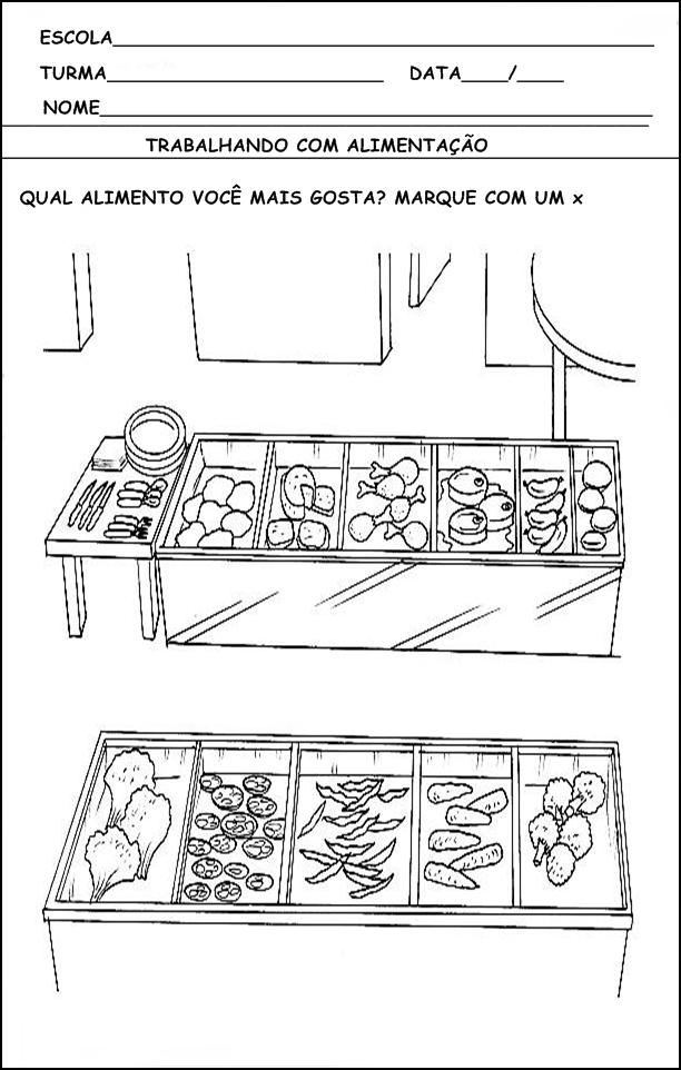 Conteudos Dessa Postagem Atividades De Alimentacao Atividades Prontas