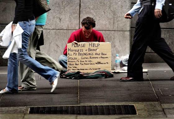 homeless vagabundo australia