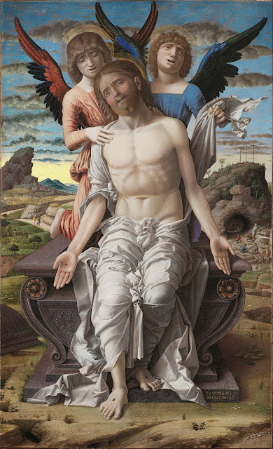 Andrea Mantegna - Christ as the Suffering Redeemer - Google Art Project