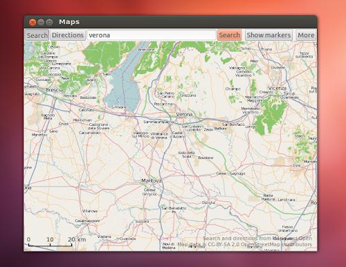 Maps su Ubuntu Linux
