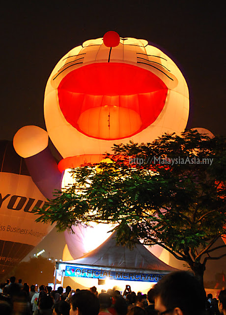 Putrajaya Doraemon Hot Air Balloon