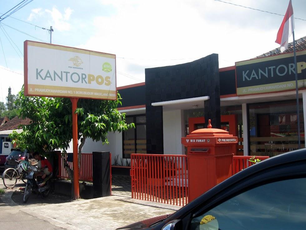 Kantor Pos Borobudur Kecamatan Borobudur Magelang Indonesia