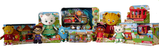 New Daniel Tiger Toys Available Exclusively at Toys 'R Us #DanielTigerToys