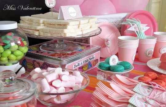Servilletas decoradas para fiestas infantiles