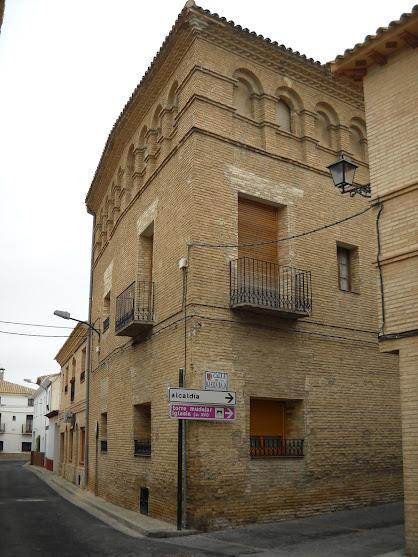 Villamayor. Casa tipica en la Calle del Paso