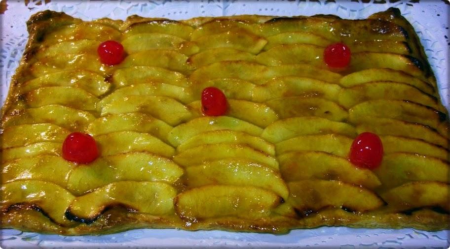 Pastel de manzana La Chata