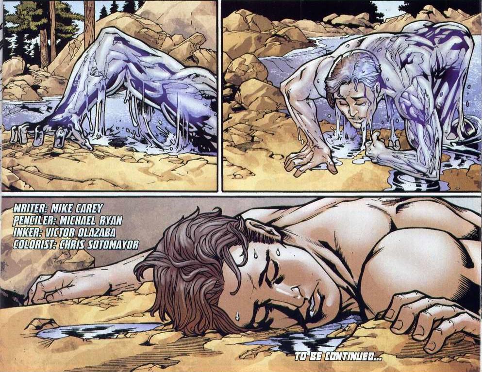 men iceman naked X