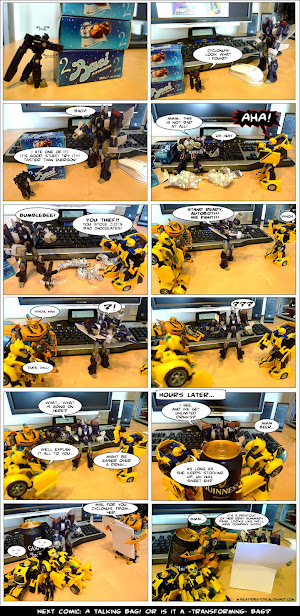 the beer and the bees - my toys are alive 02 comic