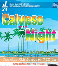 J/24 Australian Nationals- Calypso Reggae Night