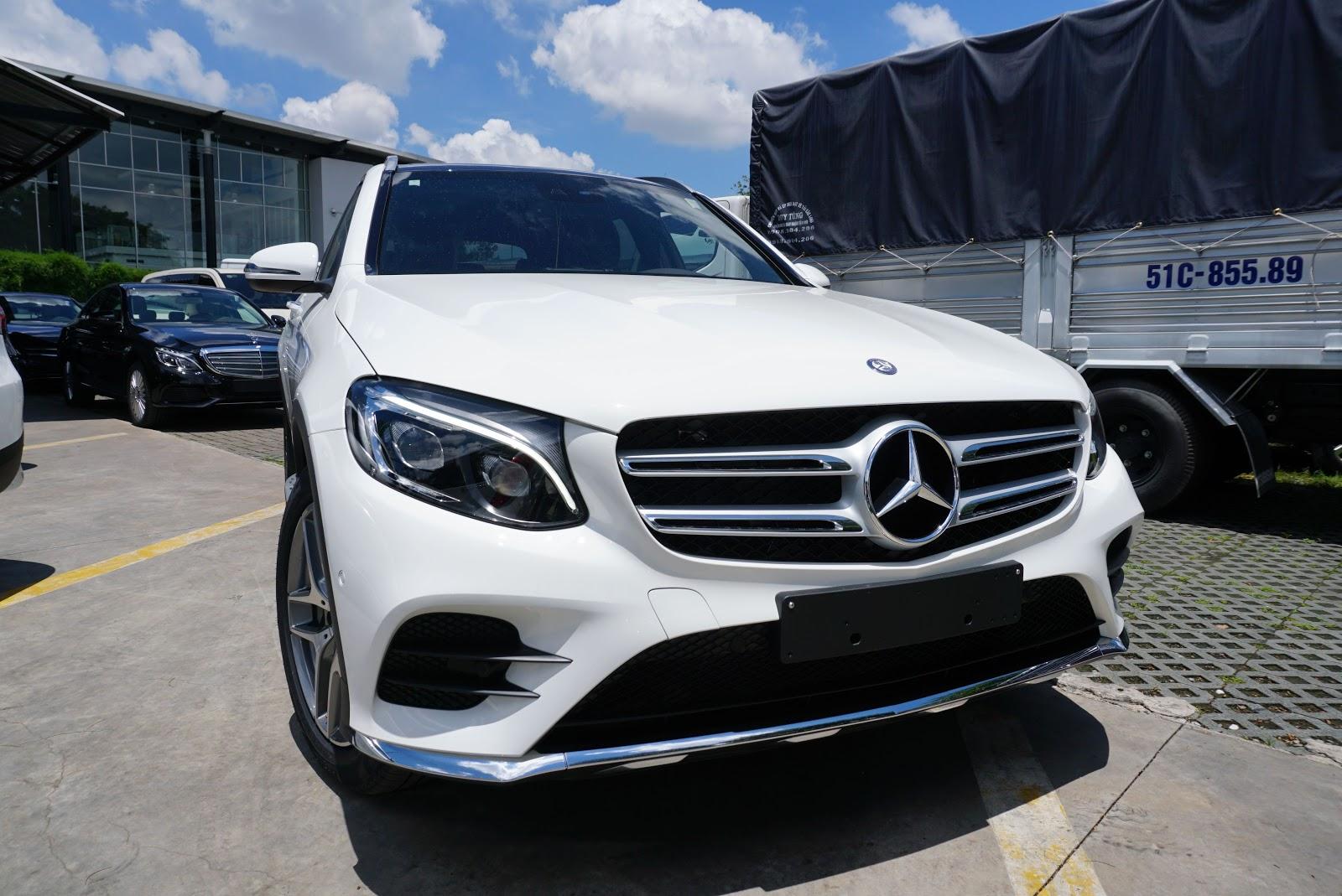 Mercedes Benz GLC đang là hàng HOT nhất của Mẹc trên thị trường hiện nay