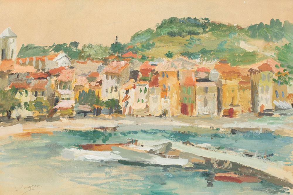 Lucian Grigorescu - Peisaj din Cassis