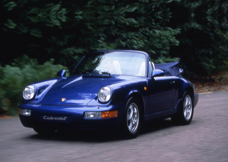 Auto Cars Project Porsche 911 Carrera 2 Cabrio 1993