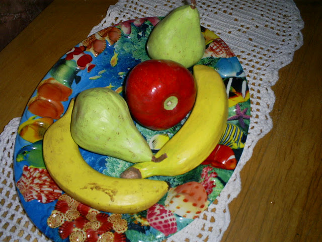 Frutas em Papietagem