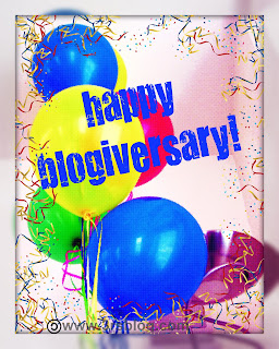 I am four years old today – and it's Day 2 of my Blogiversary Giveaway!