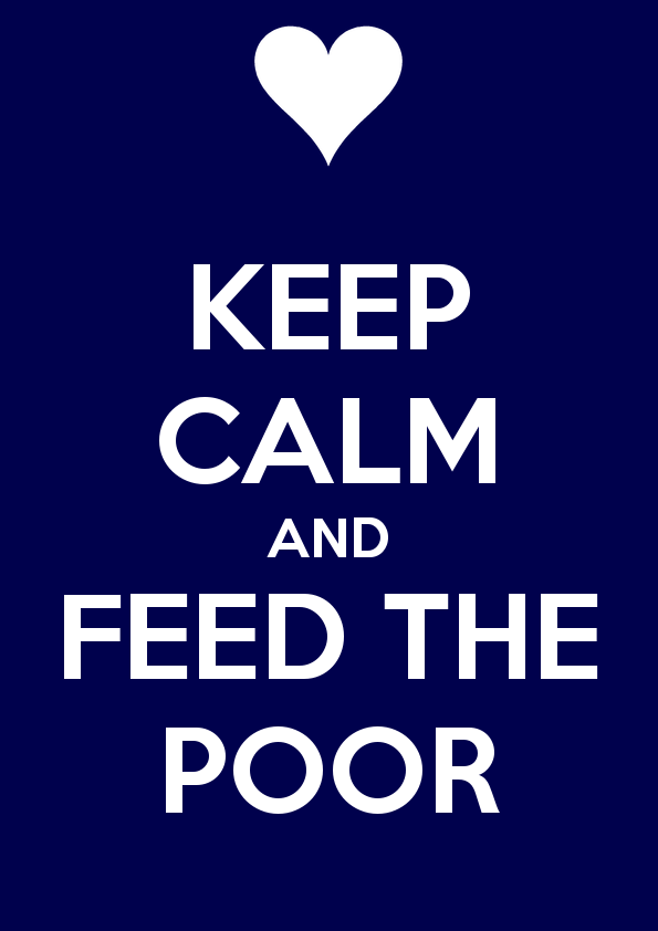 Image result for feed the poor