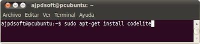 Instalar Codelite en Linux Ubuntu Desktop