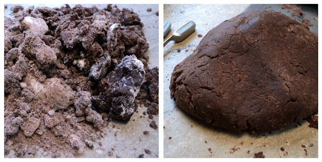 Homemade Thin Mints Cookie #recipe from @KatrinasKitchen at www.inkatrinaskitchen.com