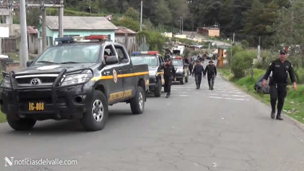 Límites entre ixchiguan y tajumulco es controlado por fuerzas de seguridad