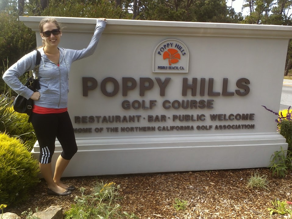 San Francisco to San Diego Poppy Hills Golf Course Pebble Beach