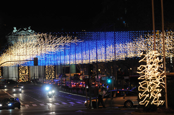 Madrid enciende las luces de la Navidad 2014-2015