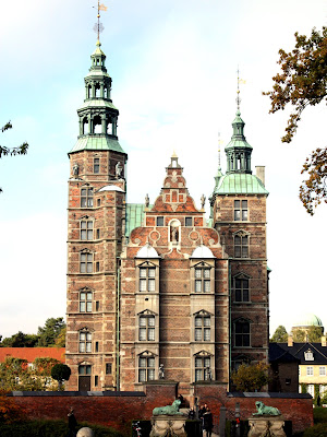 Royal palace in Copenhagen