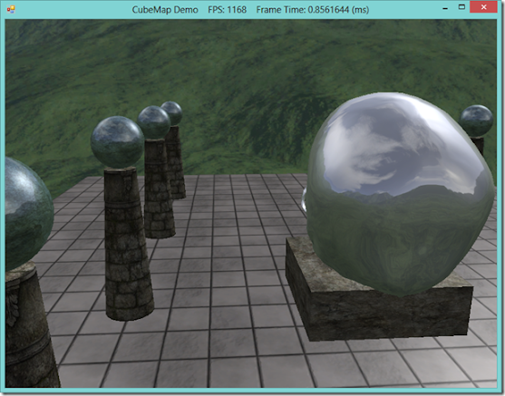 Skyboxes and environmental reflections with CubeMaps