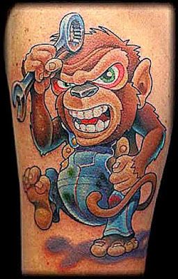 Taturday Monkey Tattoos  SMOSH