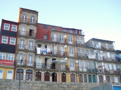 Ribeira District in Porto