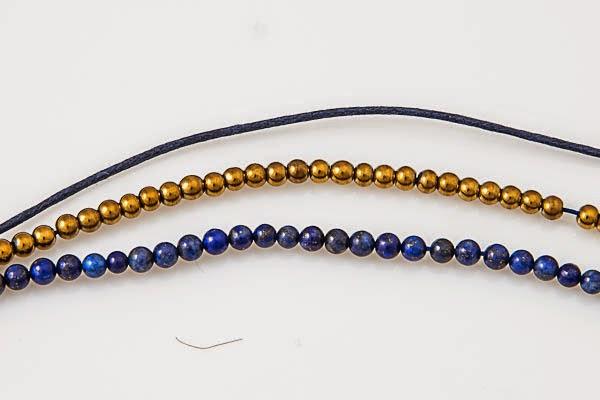 tutorial warsztaty mini beads lapis lazuli