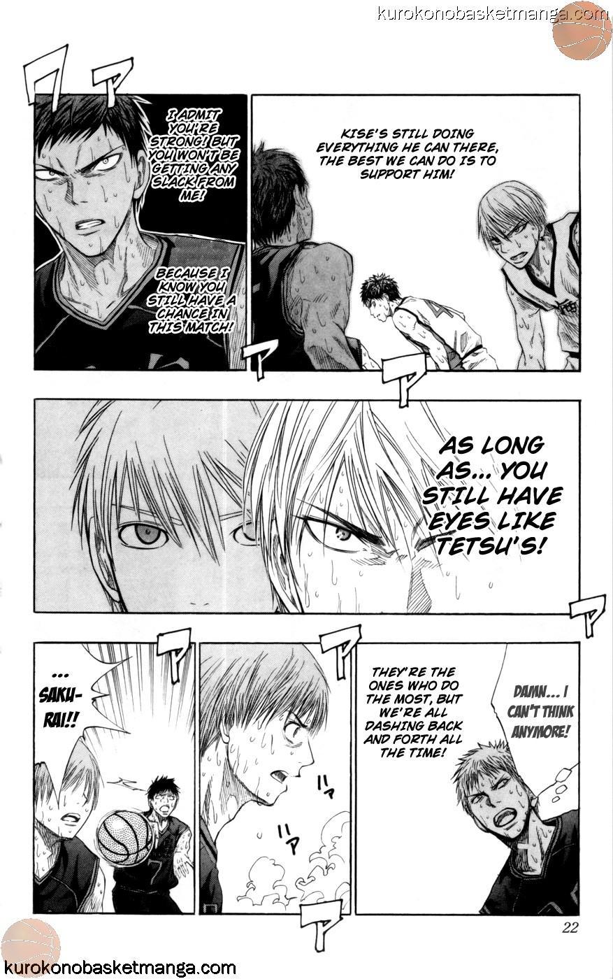 Kuroko no Basket Manga Chapter 71 - Image 19